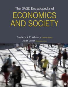 The SAGE Encyclopedia of Economics and Society